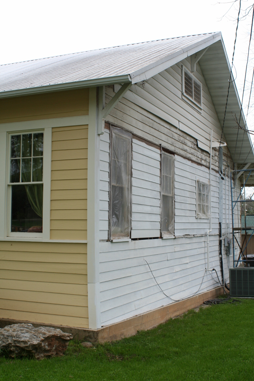 Shiplap siding the rescued home for How to get paint off siding