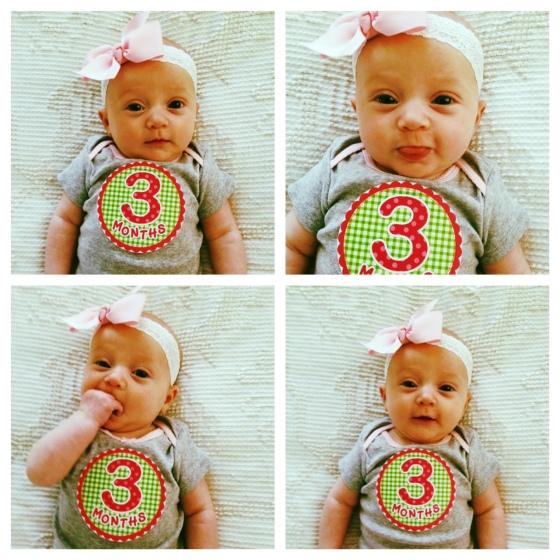 Eliza 3 months